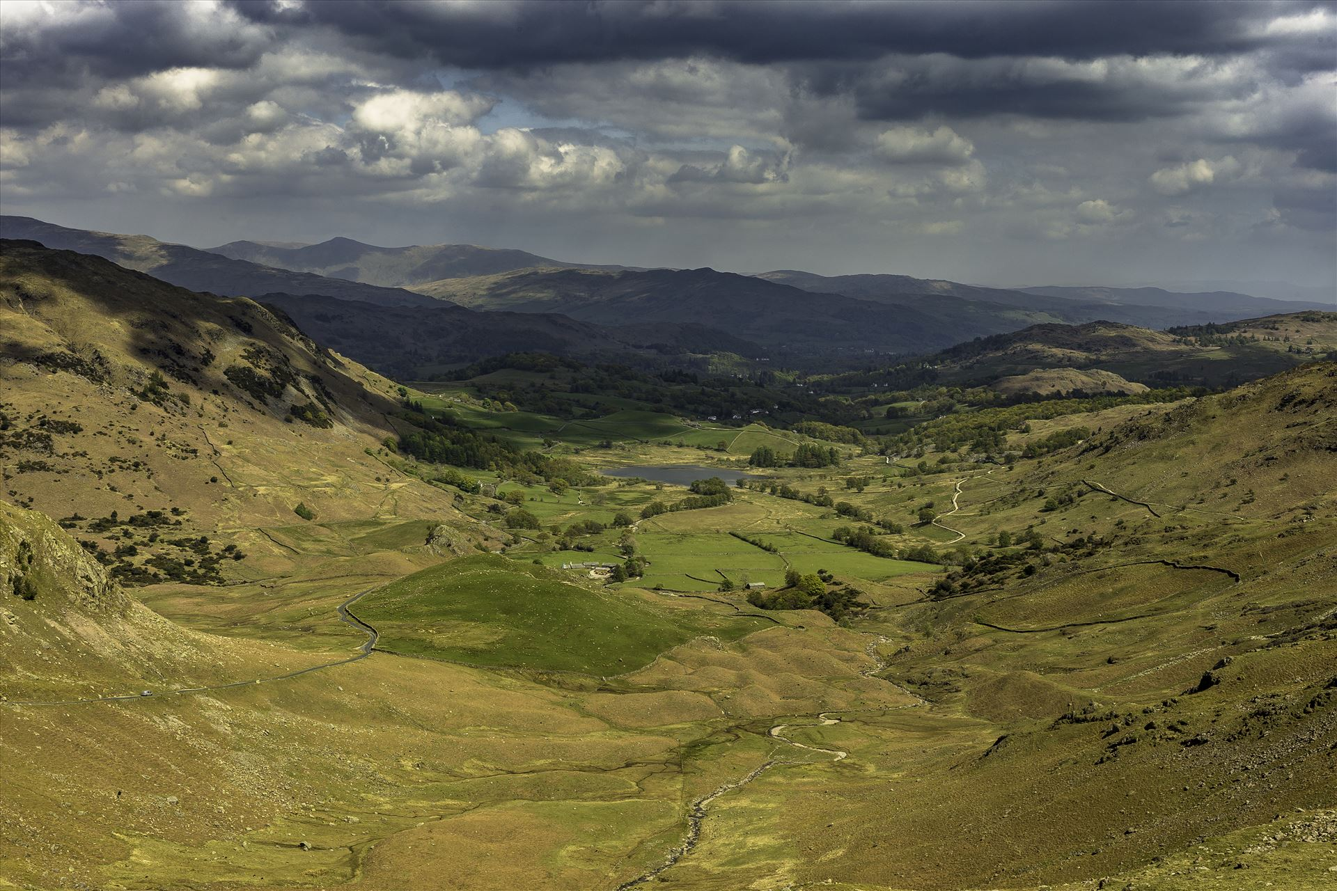Wrynose Pass - Wrynose pass in lake district by David Morton Photography